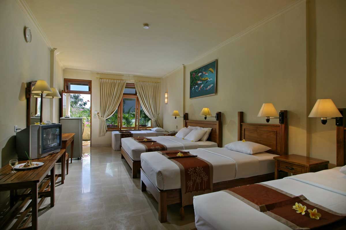 Accomodation febri 39 s hotel spa bali hotel kuta for Cheap hotels in bali